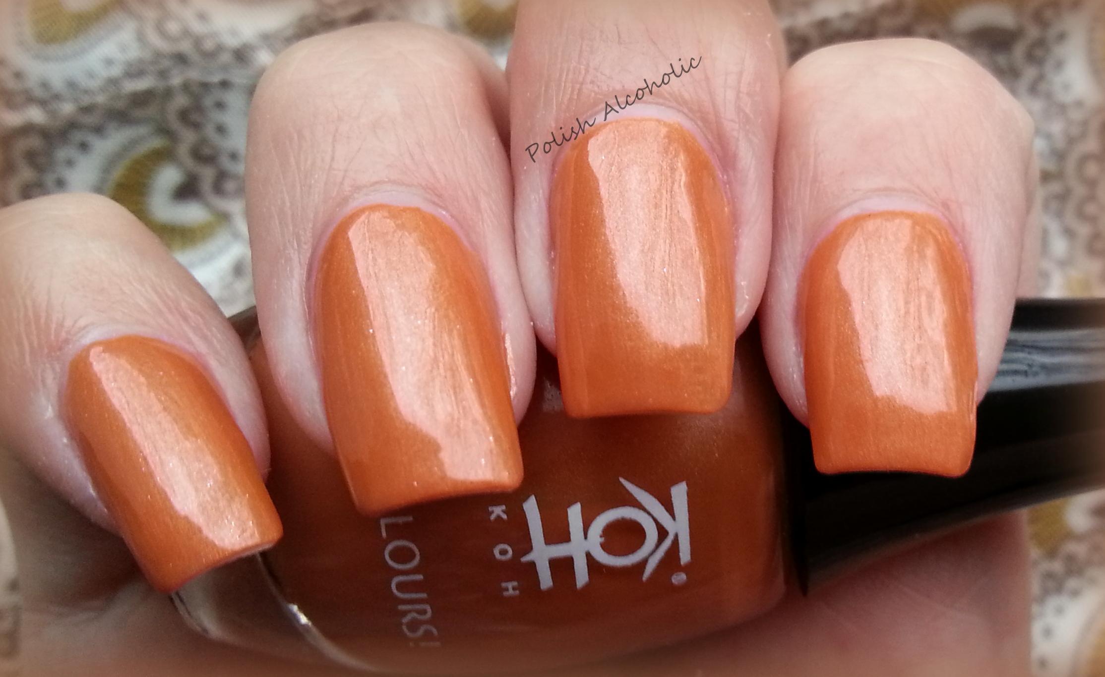 orange nail polish | Polish Alcoholic