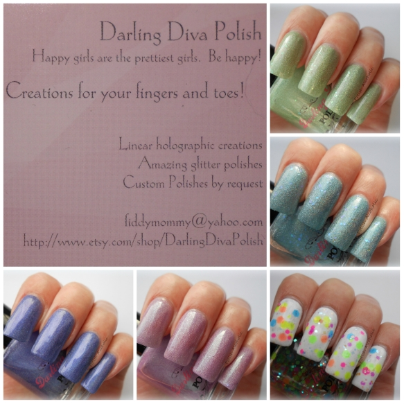 darling diva collage
