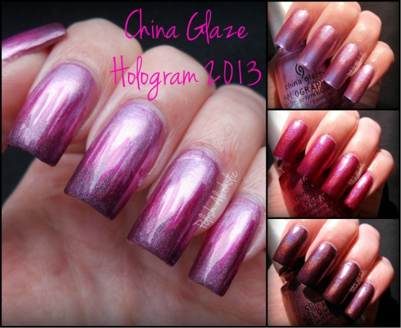 china glaze hologram 2013