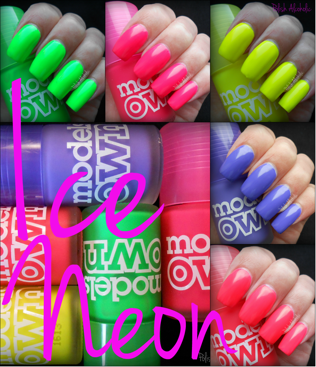 Models Own Neon Nail Polish Models Own Ice Neon