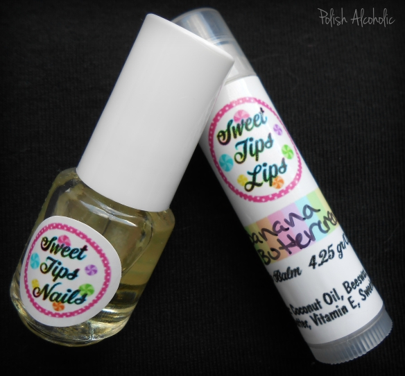 sweet tips nails oil balm