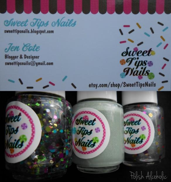 sweet tips nails
