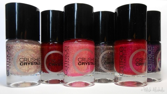 catrice - crushed crystals bottles
