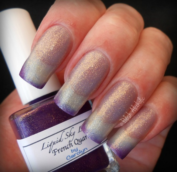 liquid sky lacquer - french quarter warm