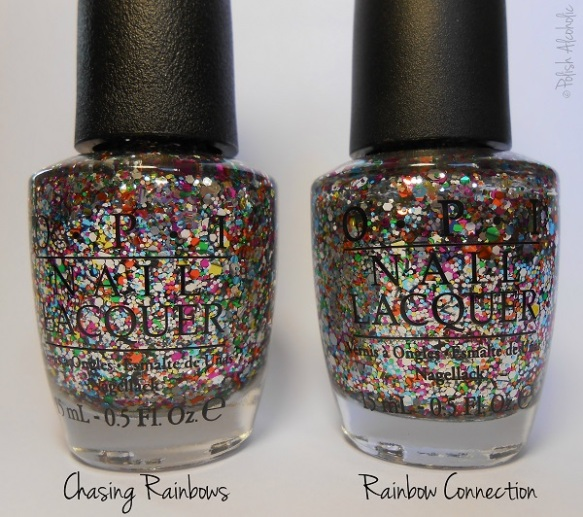 opi - chasing rainbows - rainbow connection bottles