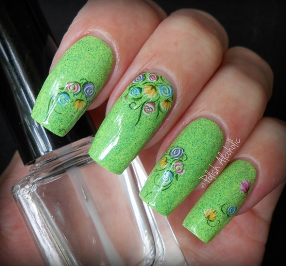 bps - floral nail stickers2