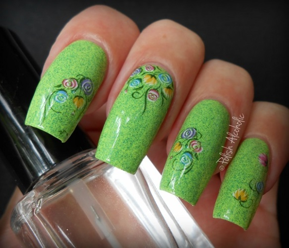 bps - floral nail stickers3