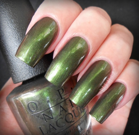 opi - green on the runway - coca cola