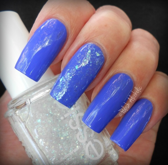 essie - chills thrills - sparkle on top