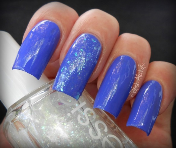 essie - chills thrills - sparkle on top1