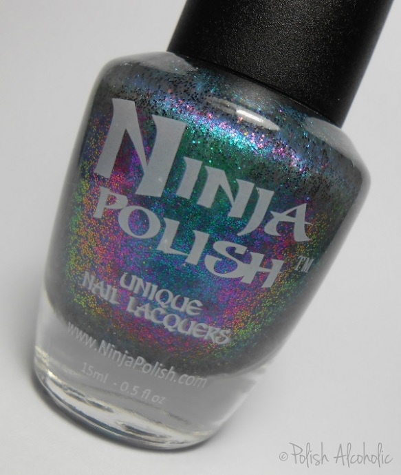 ninja polish - alexandrite bottle