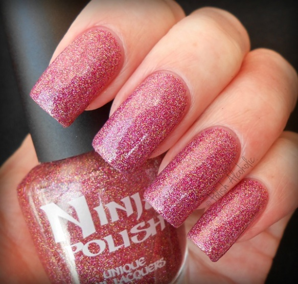 ninja polish - strawberries n roses