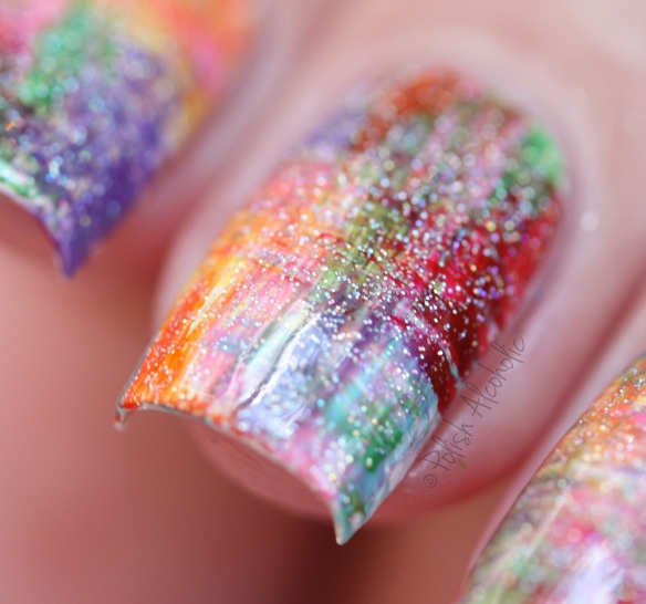 opi - rainbow dry brush 3